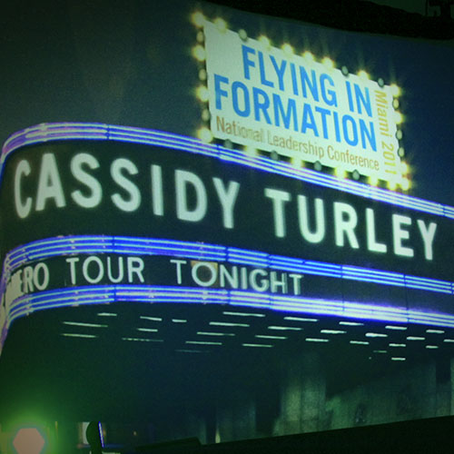 Cassidy Turley - Flying in Formation