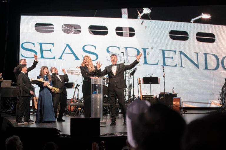 cruise ship celebration event